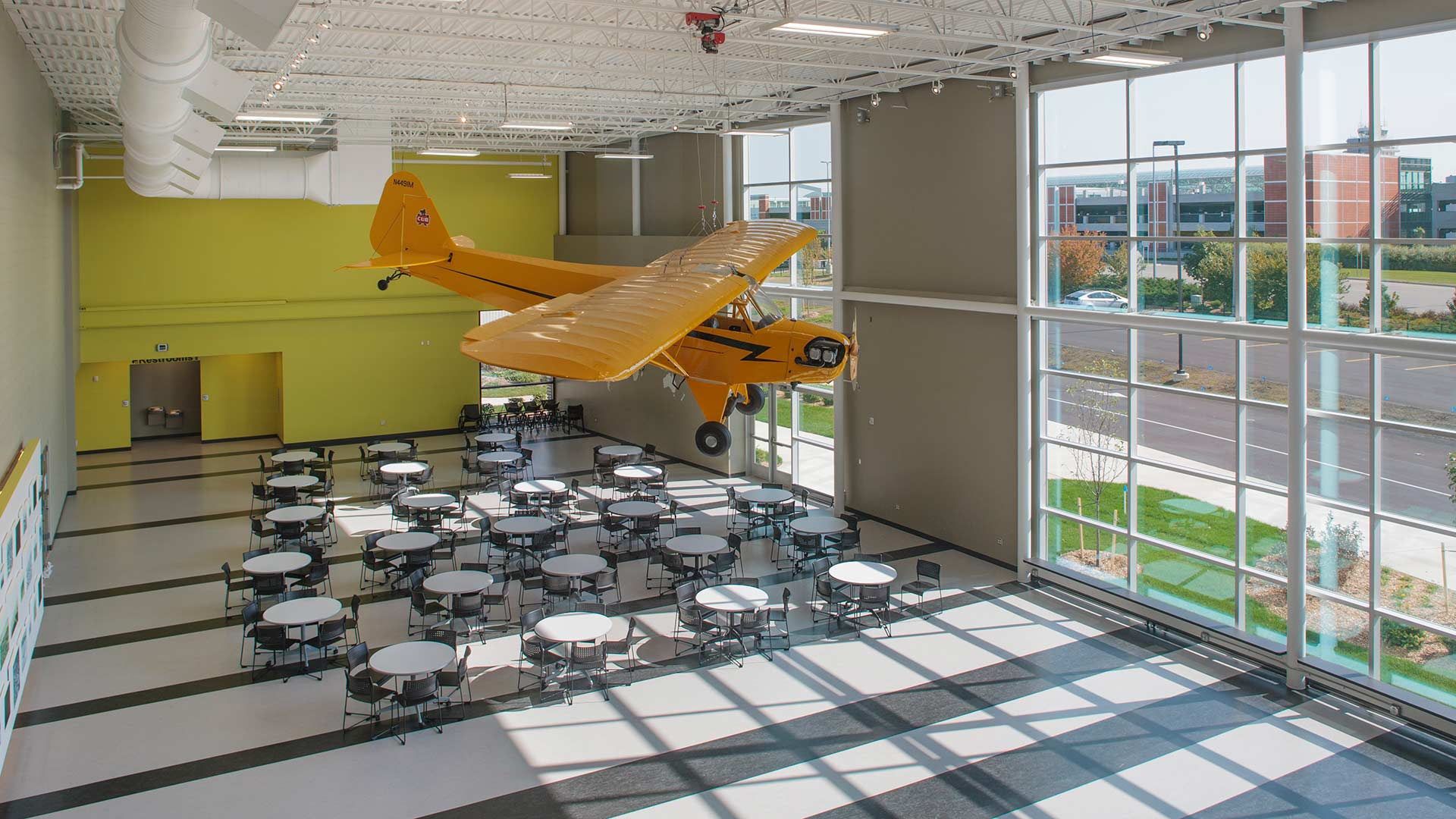 West Michigan Aviation Academy - Rockford Construction