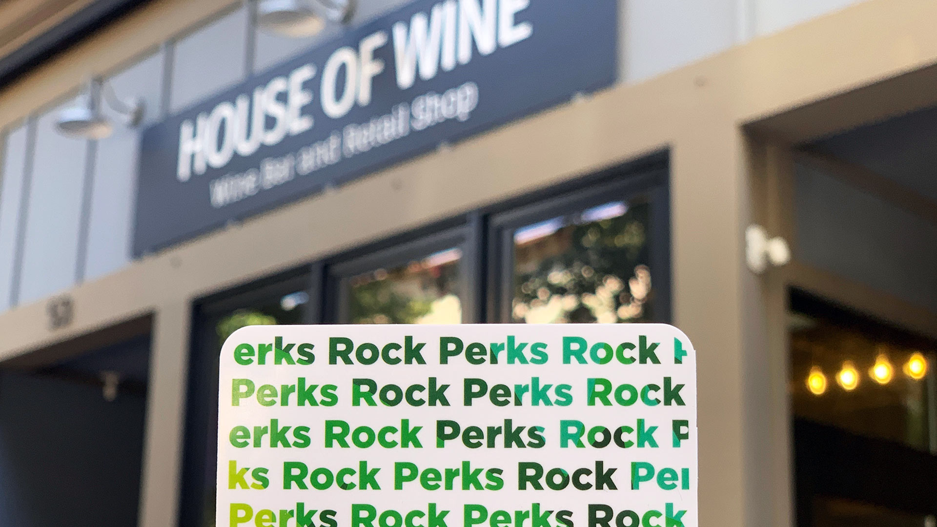 Rock Perks Card - House of Wine