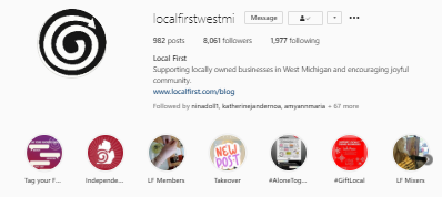 Local First - Instagram Profile 1